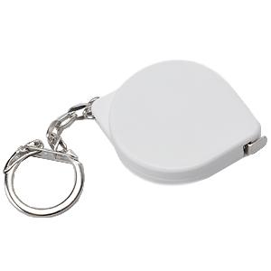 Брелок-рулетка Капля (1 м); 5х3,7х1 см; пластик