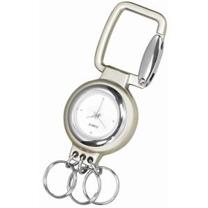Брелок Часы; 7,2х3х0,8 см; металл