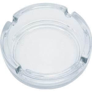 Пепельница прозрачная, стекло, d=10,8 см