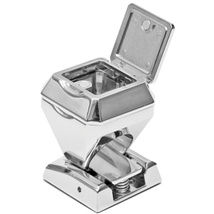 Пепельница ПЕРСТЕНЬ; 3,4х3,4х4,9 см; металл
